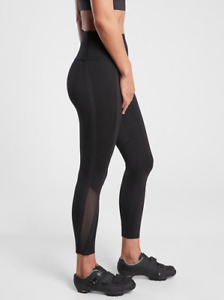 ATHLETA High Gear 7/8 Tight Leggings S SMALL Black, Spinning Cycling Workout NWT