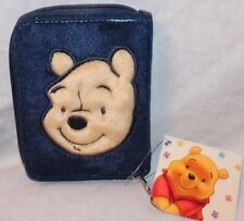 NEW WITH TAG WINNIE THE POOH KIDS ZIPPERED WALLET  BLUE