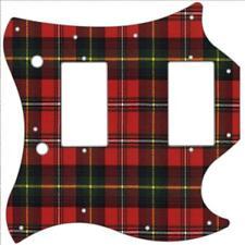 SG Standard Pickguard Custom Gibson Graphic Graphical Guitar Pick Guard Tartan