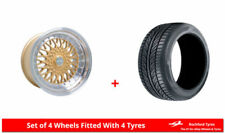Dare Aluminium Wheels with Tyres 8 Number of Studs