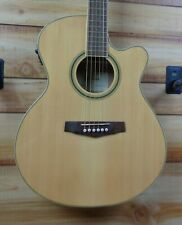 New Ibanez Pc15Ece Acoustic Electric Guitar Natural High Gloss