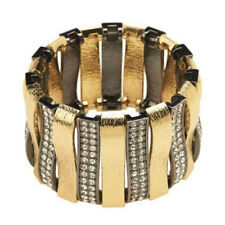 QVC Luxe Rachel Zoe Arch of Texture & Pave' Stretch Bracelet SOLD OUT $121