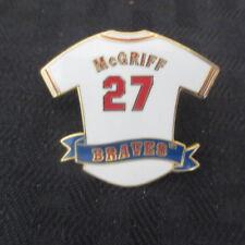 1996 Fred McGriff Atlanta Braves Pin