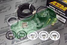 Aem Digital Oiltransmissionwater Temp Gauge 100300f With Sensor And Wiring