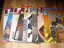 Lot comics Marvel knights Daredevil,Veuve noire,Marvel boy