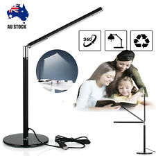 Bright LED Table Desk Bedside Reading Lamp 360°rotatable Foldable Eye Care Light