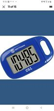 OZO Fitness CS1 Easy Pedometer for Walking | Step Counter with Large Display and