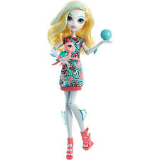 Monster High Ghoul Beast Pet Turtle & Lagoona Blue School Girl Doll|MATTEL DNX40