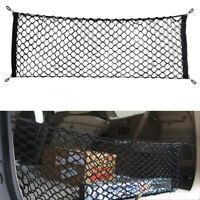 1x Car Nylon Interior Trunk Rear Cargo Organizer Storage Net Elastic Accessories