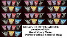 job lot Colour FX Mixed set sexy Hair Gel Halloween parties summer party Bundle
