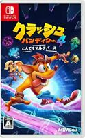 (JAPAN) Nintendo Switch video game / Crash Bandicoot 4: It's About Time