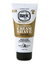 Magic Carson Magic, Smooth Razorless Cream Shave 6 oz (Pack of 3)