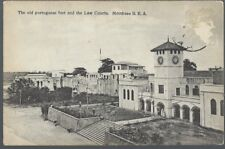 CPA - Mombasa - Old Portugese fort and law courts - KENYA