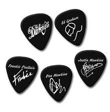 THE DARKNESS Ed Frankie Justin Dan signature print plectrum guitar pick picks