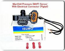Manifold Absolute Pressure Sensor W/ Connector Fits: Buick Cadillac Chevrolet  &
