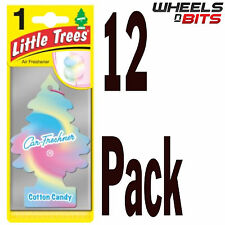 12 x Cotton Candy Scent Magic Tree Little Trees Car Home Air Freshener Freshner