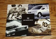 Original 1995 Honda Full Line Sales Brochure 95 Accord Civic del Sol