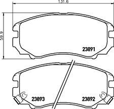Mintex Front Brake Pad Set MDB3199  - BRAND NEW - GENUINE - 5 YEAR WARRANTY
