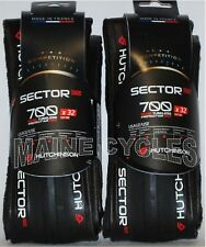 Hutchinson Sector tubeless clincher all black 700 X 32 1 pair (2 tires)
