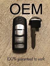 OEM 14-18 Mazda 3 Mazda 6 Smart Key Proximity Keyless Remote FCC :WAZSKE13D02