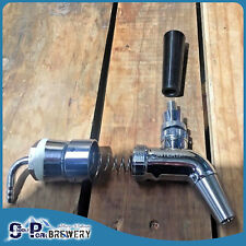 304SS Intertap with 304SS Tower Tap Shank, Kegerator
