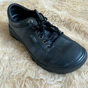 KEEN Shoes Mens Size 10 Black PRESIDIO Lace Up Casual 1017948 Comfort