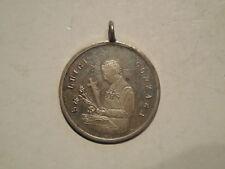 medaglia devozionale san Luigi Gonzaga beata vergine miracolosa Fontanellato