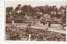 Water Garden Kingsnorth Gardens Folkestone RP Postcard  217a