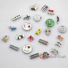 1 PC New Floating Locket Charms for Glass Living Memory Lockets Free Shipping