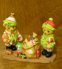 Cherished Teddies #4023653 STAURT & ALAN Toys & Joys CHRISTMAS From Retail Store