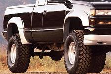 "88-98 Chevy GMC CK Truck 2-Door Tahoe Yukon Xenon Urethane 3"" Fender Flares 4pc"