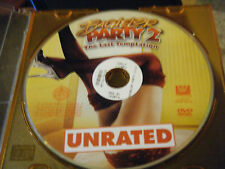 Bachelor Party 2: The Last Temptation (DVD, 2008, Unrated) - Disc Only!!!
