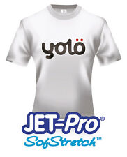 10x A4 Jet-Pro® Sofstretch™ Inkjet Heat Transfer Paper for Light Fabrics
