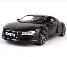 Maisto 1:24 Audi R8 Black Diecast Model Racing Car Vehicle Toy NEW IN BOX