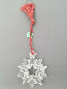 Vintage 2004 Marquis Waterford Crystal Ornament Snowflake