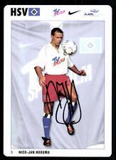 Nico Jan Hoogma Autogrammkarte Hamburger SV 2001-02 Original Signiert+A 96118