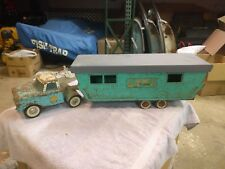 Vintage Nylint Mobile Home #6600 Pressed Steel Ford Truck and Trailer
