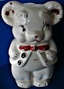 Vintage Leeds China Walt Disney Mickey Minnie Turnabout Cookie Jar