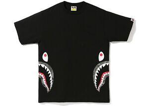 ABC DOT REFLECTIVE SIDE SHARK Men's TEE Size XL