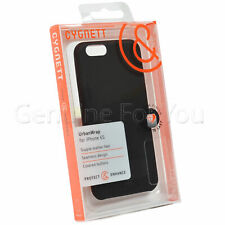 Genuine Cygnett Urban Wrap Leather Case Cover for iPhone 6/6S In Black Colour
