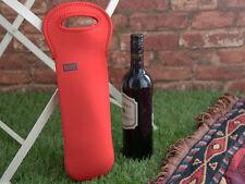 BUILT NY One-Bottle FORMULA 1 RED Neoprene WINE TOTE BAG
