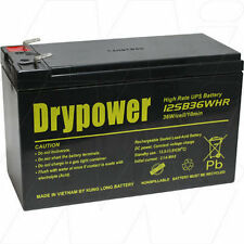 12V 7Ah Replacement Battery Compatible with APC RBC40 (1 battery required)