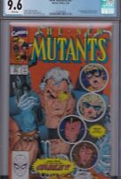 NEW MUTANTS #87 CGC 9.6 NM+ 1st Appearance of CABLE NEW DEADPOOL MOVIE WHITE Pgs