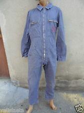 COMBINAISON DE SAUT PARACHUTISTE ANNEES 50 60 CEP  BLEU DE TRAVAIL WORKING CLOTH
