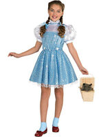 Child Sequin Wizard Of Oz Dorothy Fancy Dress Licensed Costume Book Week Kids BN