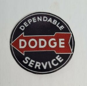 "Metal Realistic Garage Sign ""Dodge Service"" - Choose Your Scale"
