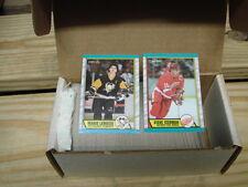 1989-90 O Pee Chee Hockey Set Joe Sakic, Theo Fleury, Brian Leetch Rookie Card