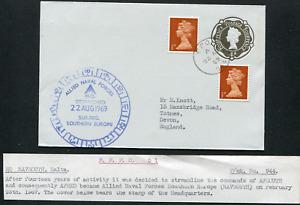 MALTA (25753): HQ NAVSOUTH postmark/cover
