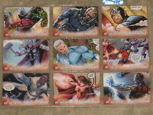 UD 2011 Marvel Avengers Kree-Skrull War Character Insert - Lot of 6 Cards