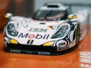 WOW EXTREMELY RARE Porsche 993 911 GT1 Evo #25 LeMans 1998 1:43 Minichamps-Spark